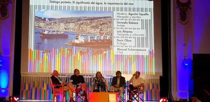 Participación en Puerto Ideas de Prof. Doris Oliva E.