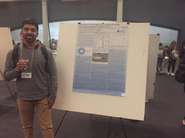 Daniel Cárcamo participa en Student Conference on Conservation Science, New York