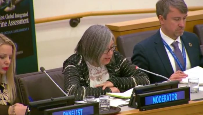 Directora del Instituto de Biología UV moderó importante sesión de Naciones Unidas
