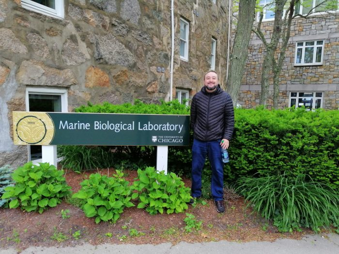 Profesor Rodolfo Farlora participa en el Simposio «Frontiers in Reproduction» en el Marine Biological Laboratory en Woods Hole, USA